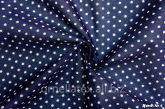 Fabric for aprons print small white peas of R15002