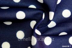 Fabric for aprons print big white R15000 peas