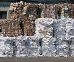 Utilization of waste paper of all brands.