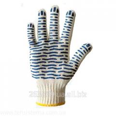 """Перчатки с ПВХ рисунком """"DOLONI"""" арт.621"""