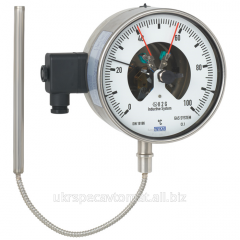 73-8 The manometric thermometer with the switching