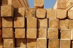 Brusa, a board for construction, timber from the
