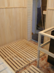 Installation of saunas