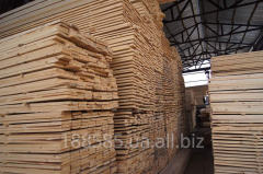 Svezhepilenny board, timber for reasonable prices