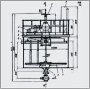 Сгуститель радиальный Ц-2.5