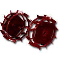 Metal wheel diameter of D280 of mm