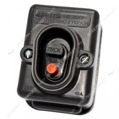 Start button PNVS 380V ukr LUCH-LEMIRA 10A 380B