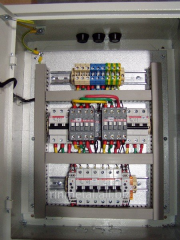 Built-in automatic transfer switch (ATS)