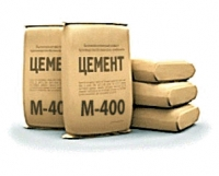 Cement in bags of M 400