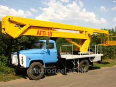 AGP-18 autohydroelevator (Avtovyshk)