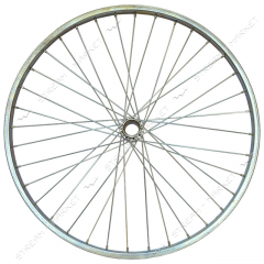 Wheel the back strengthened d 28 on the bicycle (a