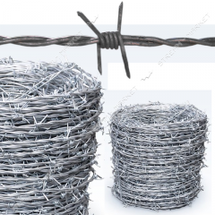 Barbed wire of d=1, 8 otsink, 8 kg 145 m (the