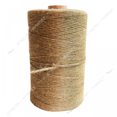 Twine Flax 650gr thin twisted linen thread No.