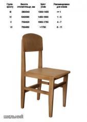 Кресла из натурального дерева