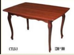 Wooden kitchen tables. Dining tables