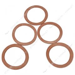 Прокладка радиаторная беконит (42мм*33мм*2мм)