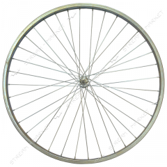 Wheel forward d 28 on the bicycle (the plug, a