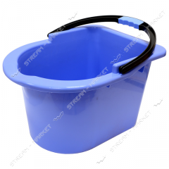 Bucket plastic for a mop the Horizon color (with a