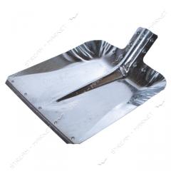Shovel for snow (zinced) 38х38 No. 429424