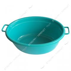 Basin color oval No. 438340, polyethylene for l