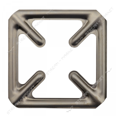 Overlay for gas. a plate (for rings) (cross)
