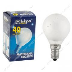 Лампа декоративный шар Искра Львов P45 230В...