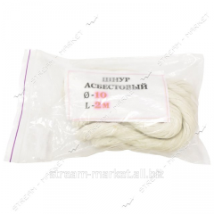 Asbestine cord (f. 10 mm, length are 2 m) No.