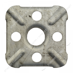 Overlay for gas. a plate (for rings) (thick)