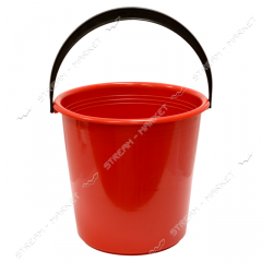 Bucket polyethylene not food 7 l color with the