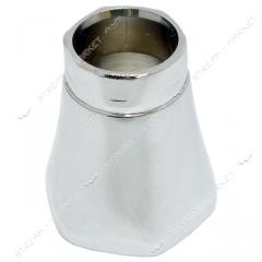 Юбка на кранбуксу буксового смесителя силумин 108176