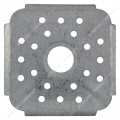 Overlay for gas. a plate (for rings) (thin) No. 1