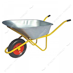 The wheelbarrow of 1-one-wheeled 150 kg volume is