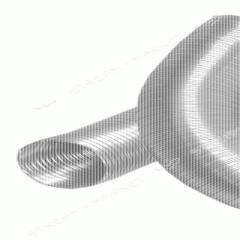 Pipe alyuminevy gofrirovannayadlya systems of