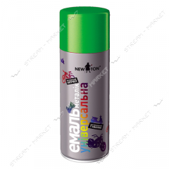 Aerosol paint-enamel with effect a metallic of