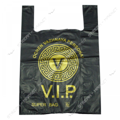 Plastic bag with the drawing Undershirt 40х58 VIP