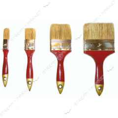 Brush flat Hand-Tools of Euro width 2 (natural