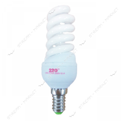 Lamp energy saving 9 W 2700K (warm) E14 full