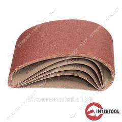 Sanding belt Intertool BT-0304 75 * 457 mm, grain