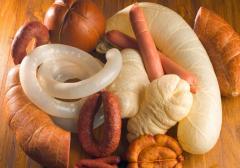 Оболочки колбасные натуральные, коллагеновые, белкозивные.