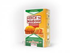 Коробка под смеси для выпечки 150*100*50 мм.