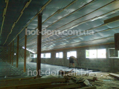 The heat-insulating heaters for rooms, warming of