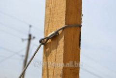 The cable is one-loopback galvanized