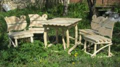 Табуретка деревянная,стол,мебель для сада,мебель