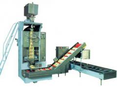 Automatic machine for spill of milk, Equipment for
