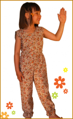 Linen overalls model 10 (the article 28403)