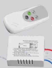 Wireless remote control Lighting Switch 2x channel