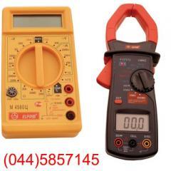 Voltamperemeters digital pincers current