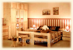 For production of furniture from board pine the