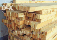 By your order pine construction laths from a