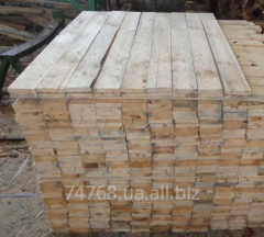 Edged boards, whetstones, pallets, rails from pine